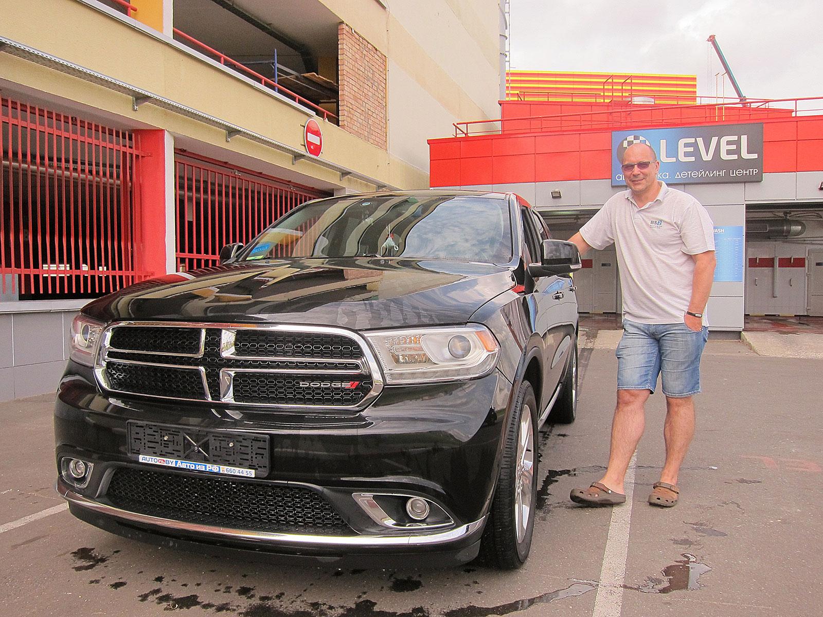 2014 Dodge Durango Citadelle с пробегом для Эдуарда