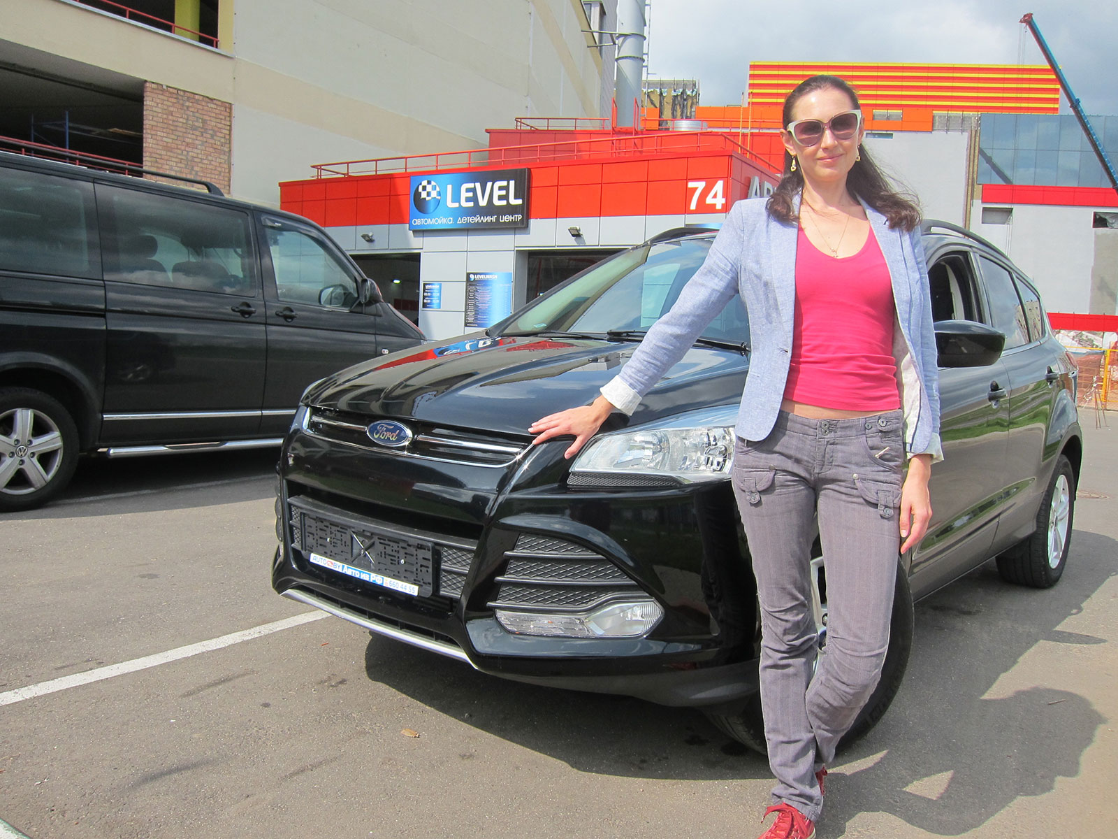 2015 Ford Kuga Titanium с пробегом для Дианы
