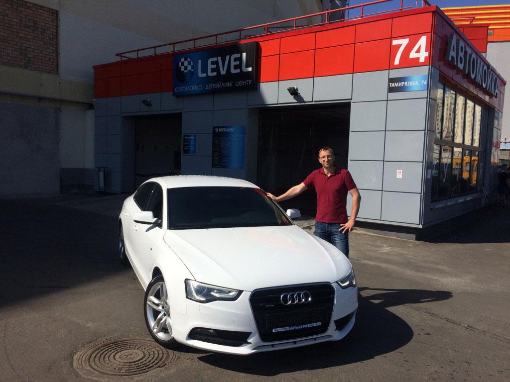 2012 Audi A5 2.0TSI Quattro (с пробегом) для Андрея - Россия