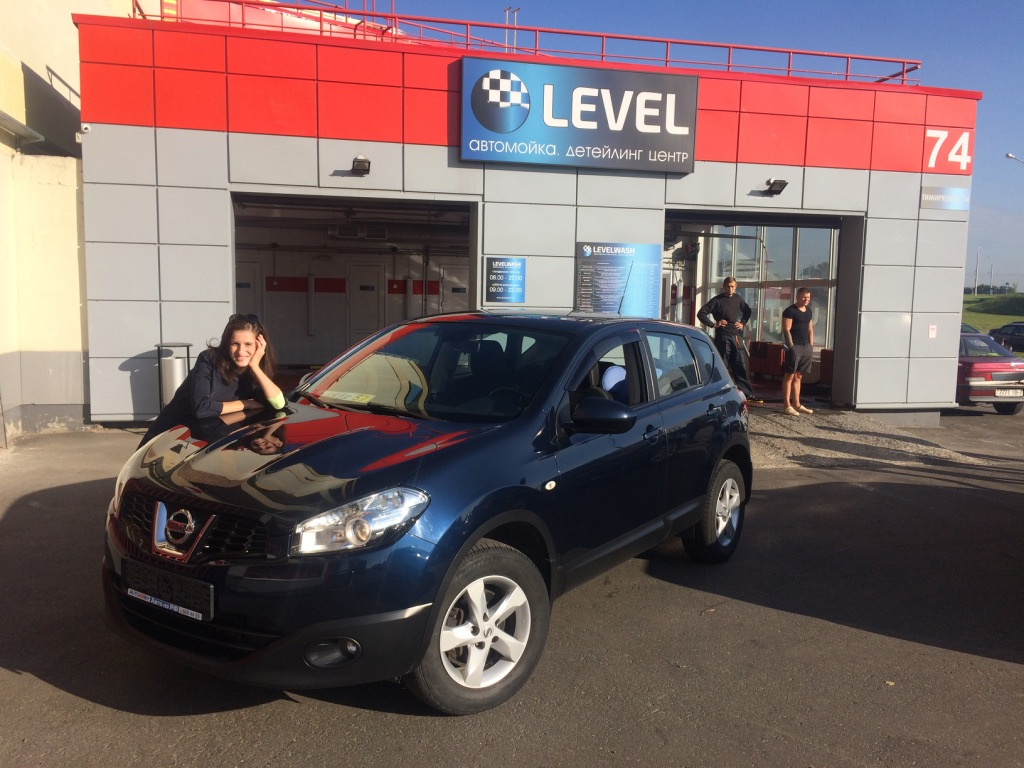 2012 Nissan Qashqai 1.6AT  (с пробегом) для Натальи - Россия